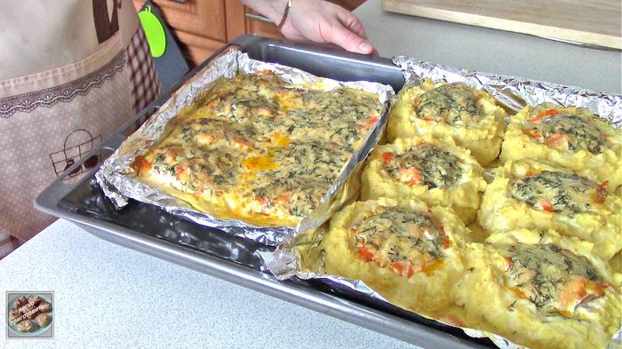 Сочная горбуша в духовке Еда, Кулинария, Рецепт, Видео, Видео рецепт, Youtube, Длиннопост, Пост, Рыба, Вторые блюда