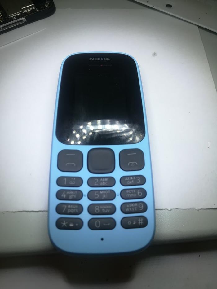 Нет изображения Nokia 105 Nokia, Ремонтцифровойтехники, Сообществоремонтеров, Пайка, Длиннопост
