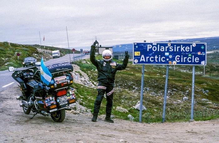 Мировой Рекорд путешествия на двухколёсном Рекорд, Кругосветное путешествие, Интересное, Мотоциклы, Honda, Длиннопост