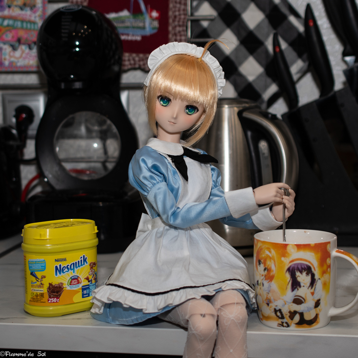 DollfieDream - МейдоСейбы пост Dollfiedream, Saber, Maid, Шарнирная кукла, Фотография, Хобби, Аниме, Длиннопост