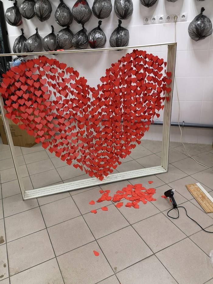 Подготовка к 14 февраля. 14 февраля, Сердце, Украшение, Своими руками, Подарок девушке, Любовь, Длиннопост