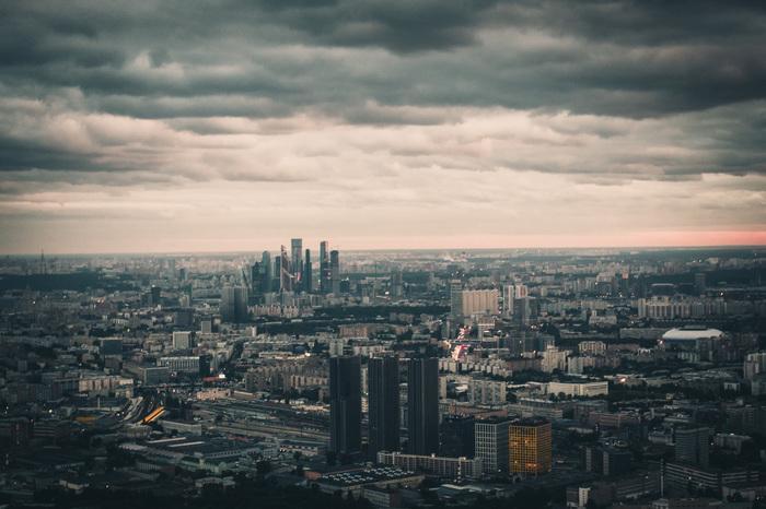 Большая Москва Москва, Панорама, Останкинская башня, Фотография