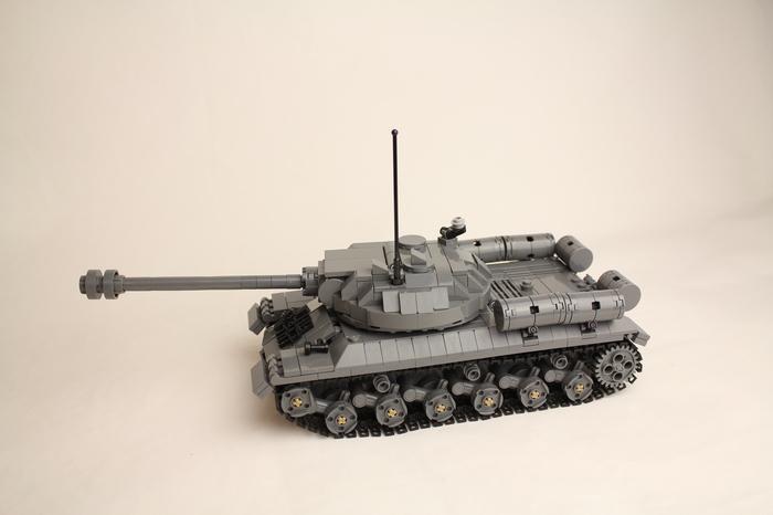 Танк ИС-3 из деталей LEGO LEGO, Танки, Длиннопост, Ис-3, Советская техника