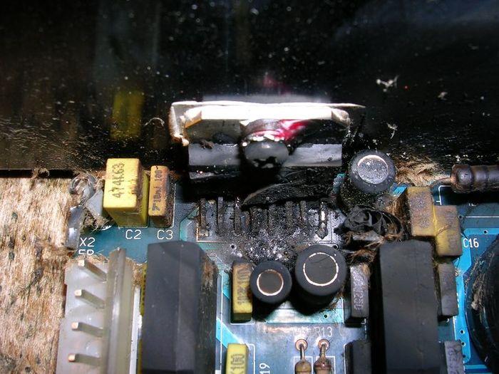 Еще одна история еще одного ремонта Ремонт электроники, Ремонт техники, Длиннопост