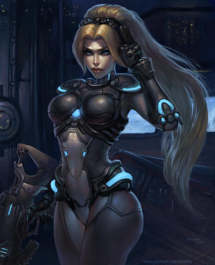 Widowmaker Nova skin
