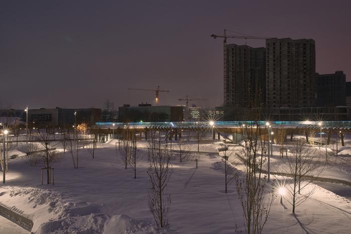 Отрицательный результат - тоже результат Фотография, Pentax, Парк, Москва-Сити, Мцк, Длиннопост