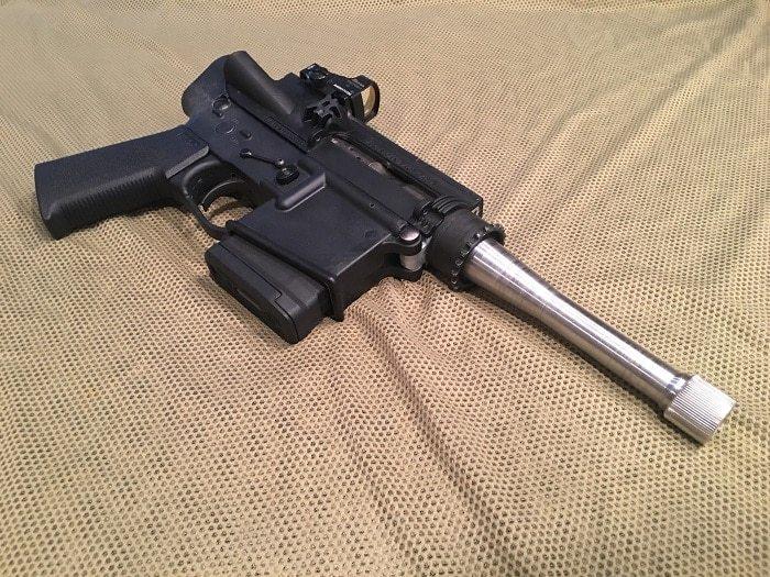 Пистолет из AR-15 Оружие, Ar-15, Пистолеты, США, Solo 300, Охота, Видео, Длиннопост