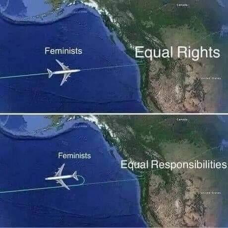 Права и обязанности Феминизм, Феминистки, Права, Обязанности