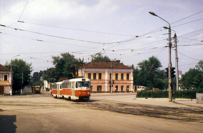 Трамваи на улицах СССР, 1987 год Транспорт, Трамвай, СССР, История в фотографиях, Длиннопост