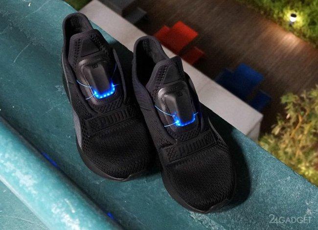 Puma выпустила свою версию самозашнуровывающихся кроссовок 7a2c1c7465768