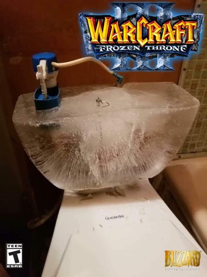 Warcraft III: The Frozen Throne Warcraft, World of Warcraft, Blizzard, The Frozen Throne, Компьютерные игры, Юмор