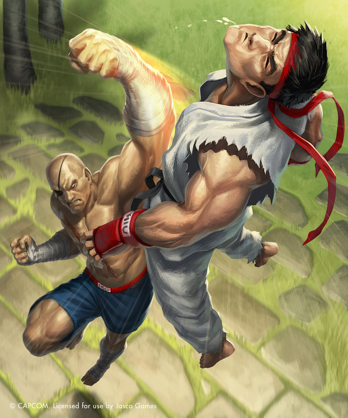 Sagat vs Ryu (Street Fighter)