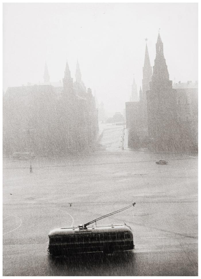 Москва, 1956 год