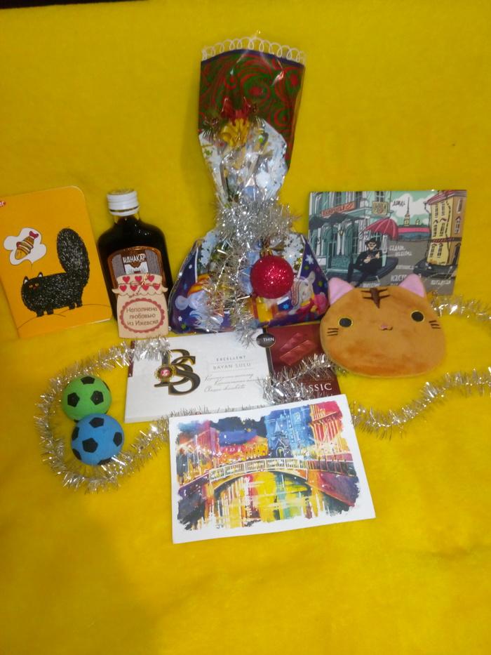 АДМ Ижевск - Тюмень Обмен подарками, Новогодний обмен подарками, Длиннопост, Тайный Санта, Отчет по обмену подарками