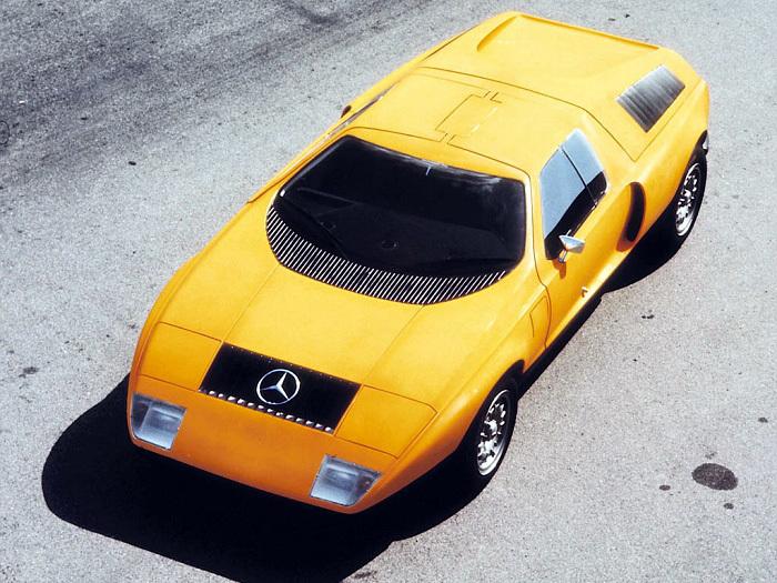 Mercedes-Benz C111 1969 года Автоистория, Мерседес, Длиннопост