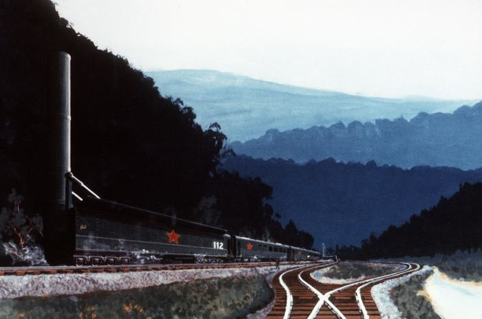 Как в СССР создали самый смертоносный в мире «поезд-призрак». Владимир Уткин, Поезд, Бжрк, Длиннопост, Военная техника, Разработка, Вооружение, СССР