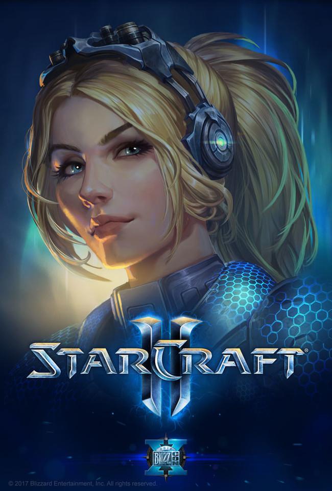 Нова Starcraft, Starcraft 2, Blizzard, Blizzcon, Nova, Постер