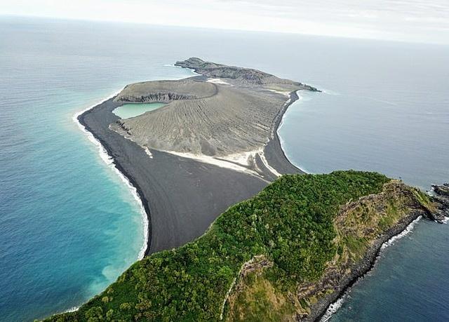 Рождение нового острова в Тихом океане Океан, Извержение вулкана, Новый остров, Длиннопост