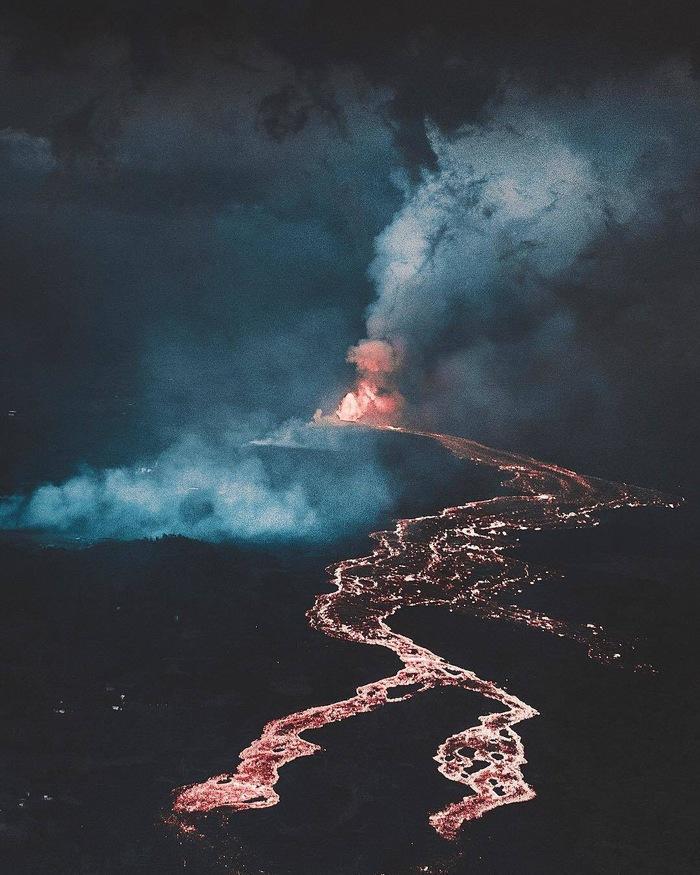 Вулкан Фотография, Вулкан, Лава, Извержение, Красивый вид, Природа, Donal James Boyd