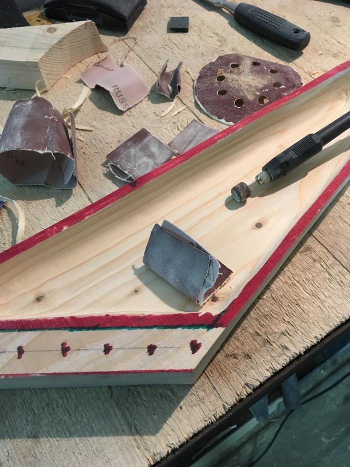Самодельный музыкальный инструмент кантеле