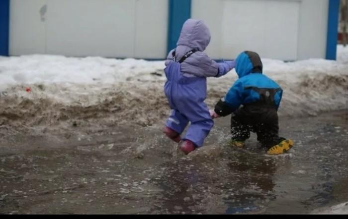 Несчастный случай на 1 апреля Оттепель, Погода, Прикол, Детство, 1 апреля