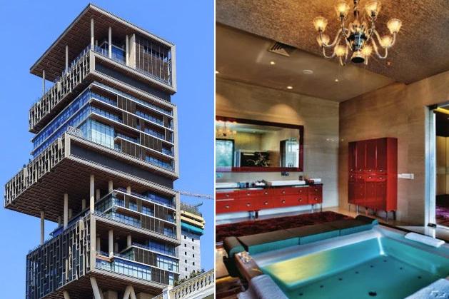 Самый большой и дорогой частный дом в мире Путешествия, Индия, Азия, Мумбаи, Бомбей, Длиннопост, Особняк, Миллиардеры