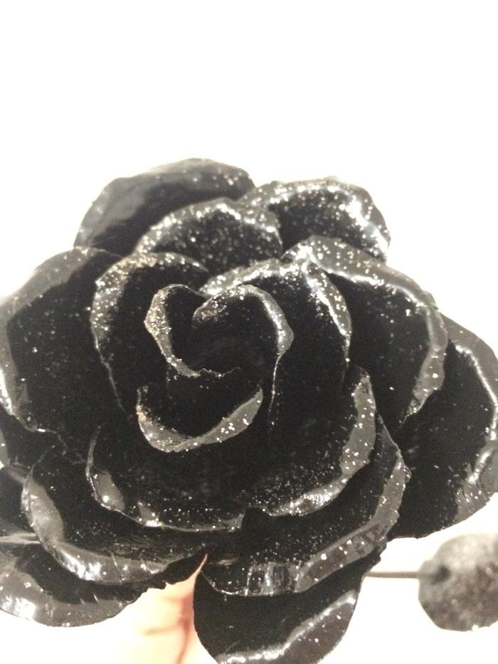 Роза из металла Роза, Металл, Своими руками, Цветок, Длиннопост