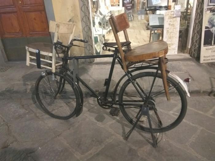 Семейный велосипед, итальянская версия. Велосипед, Италия, Семейный велосипед