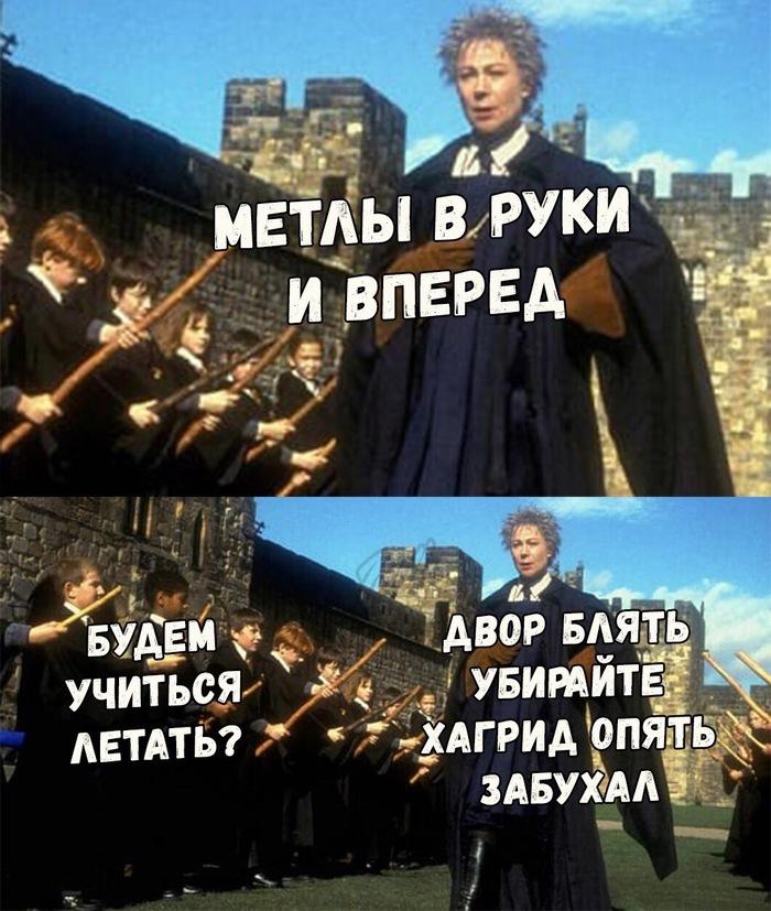 Если быХогвартс был в России