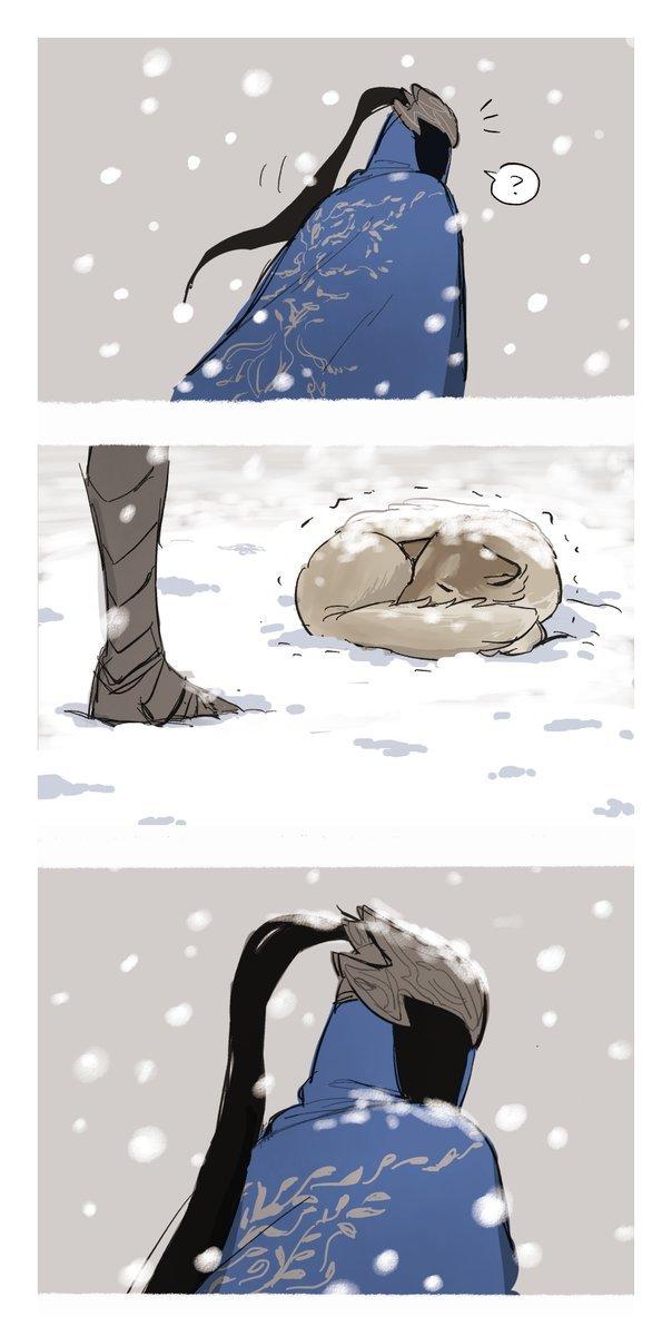 """Why did not the original Artorius cape be long?"" Oji_harem, Oji harem, Dark Souls, Арториас, Сиф Великий волк, Комиксы, Игры, Арт, Длиннопост"