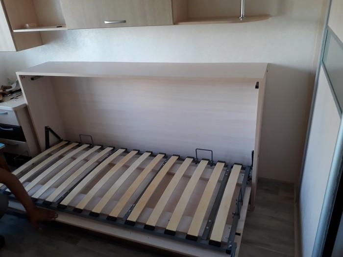 Кровать бокового подъема Мебель, Кровать, Много места