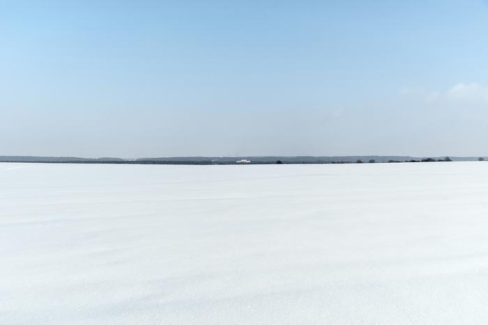 Снежные просторы.