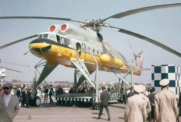 Ми-10.Летающий кран советской страны. Авиация, Вертолеты России, Ми-10, Длиннопост