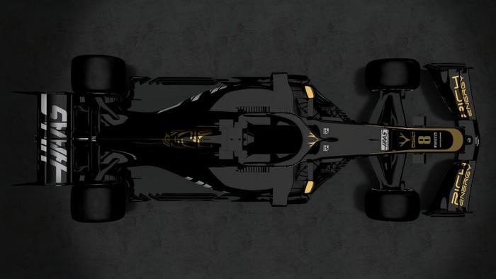 Новая ливрея болида HAAS Формулы-1 Формула 1, Haas, Ливрея, Длиннопост
