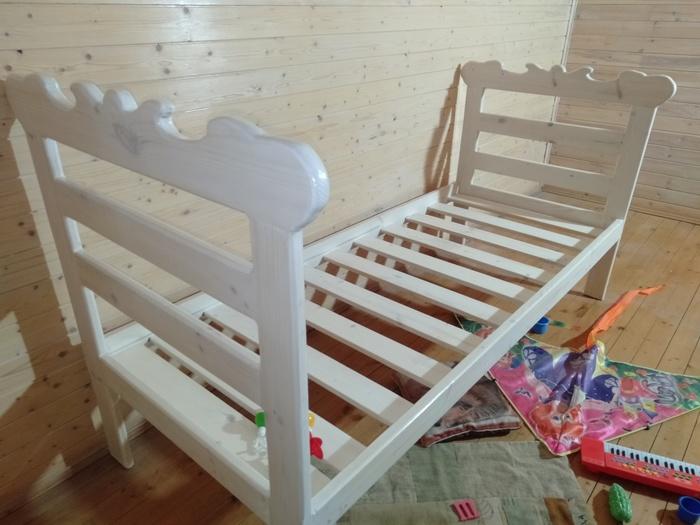 Детская кроватка из остатков после стройки. Детская мебель, Мебель, Мебель своими руками, Изделия из дерева, Столярка