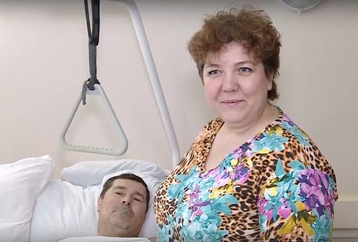 В больнице на соседних койках лежат потерпевший и виновник ДТП: они не собираются судиться и по возможности помогают друг другу Челябинск, Медицина, ДТП, Дружба, Длиннопост