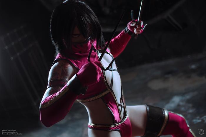 Sexy Mileena cosplay Косплей, Русский косплей, Игры, Компьютерные игры, Mortal Kombat, Фотография, Длиннопост, Its a trap!