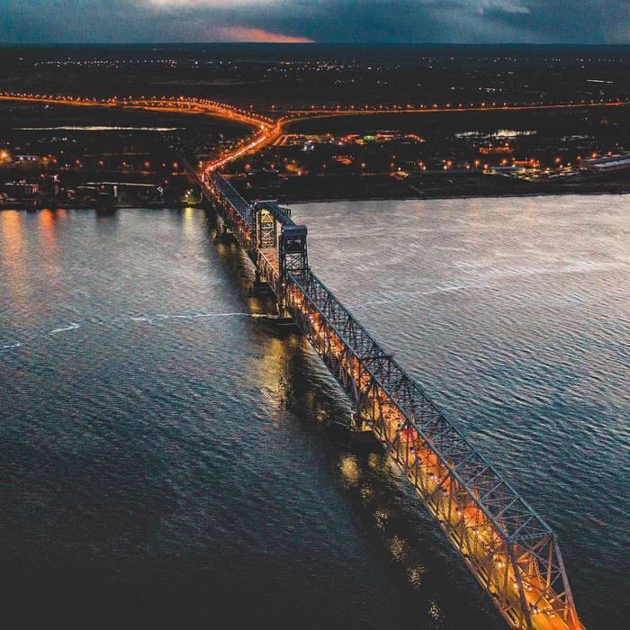 Северодвинский мост DJI, Архангельск, Квадрокоптер, Фотография, Дрон