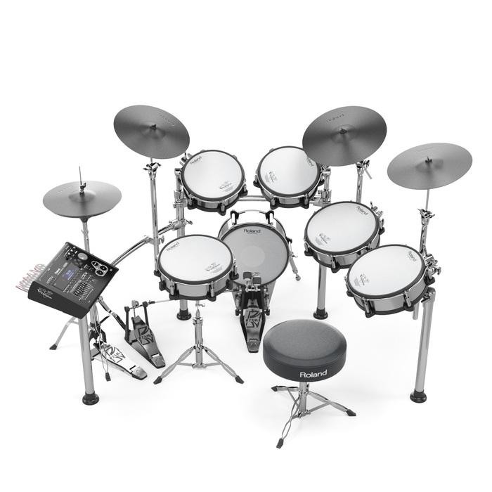 Пятничная моделька электронных барабанов 3ds max, 3D моделирование, Барабаны, Vray, Длиннопост