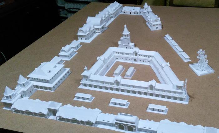 Макет к студенческому проекту Макет, Студенческий проект, 3D принтер, Гифка