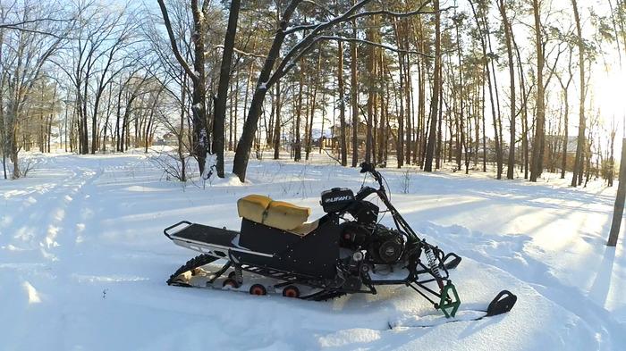 Строим самодельный снегоход | Ходовые испытания Снегоход, Самоделки, Валит, Своими руками, Видео, Длиннопост