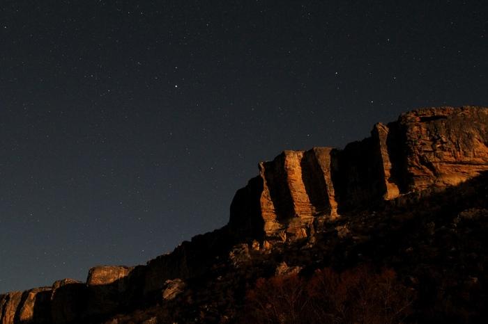Крым. Баштановка Фотография, Крым, Звездное небо, Горы