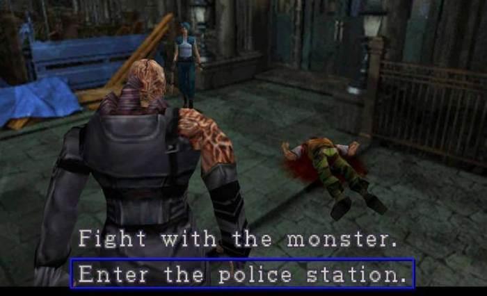 Resident Evil 3: Nemesis Resident Evil, Resident Evil 2: Remake, Psone, Playstation, Survival Horror, Capcom, Гифка, Видео, Длиннопост