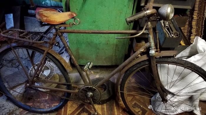 Помогите опознать велосипед Велосипед, Ретро, На опознание, Старина, Помощь, Ржавый металл, Находка, Длиннопост, Без рейтинга