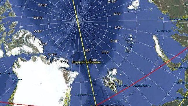 Скоро «все дороги будут вести в Россию» — сюда смещается магнитный полюс Наука, Навигация, Планета