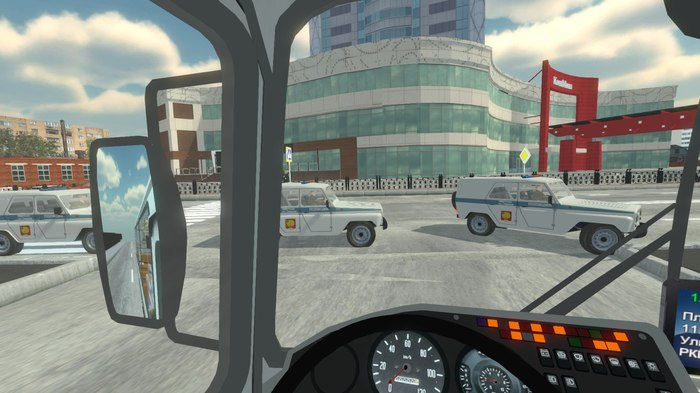 Новые модели трафика и автобус для симулятора водителя автобуса Bus Driver Simulator 2019 Автобус, Симулятор, Серпухов, Моделизм, 3D, Машина, Длиннопост