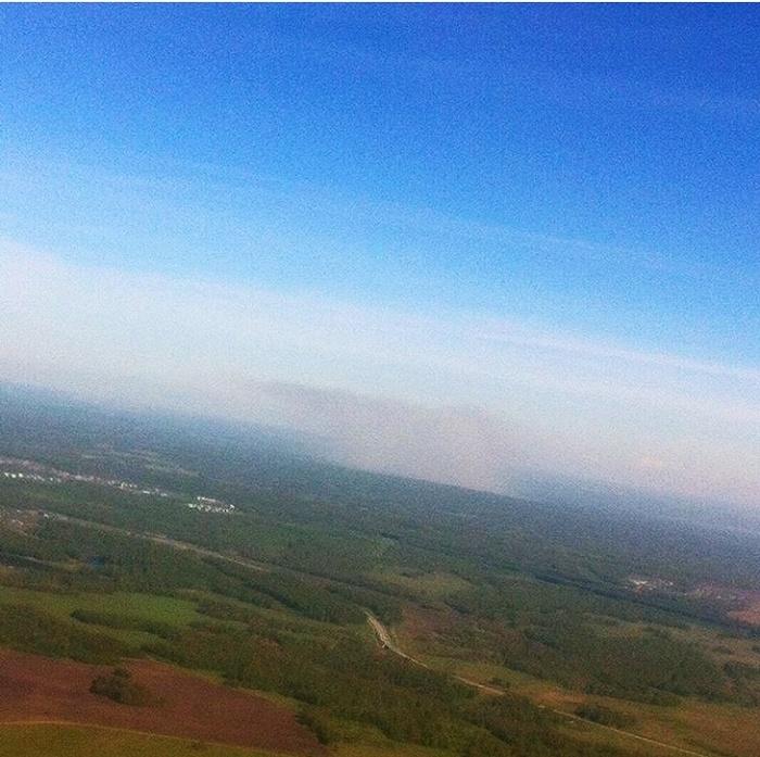 Мое поздравление пилотам Авиация, Небо, Длиннопост