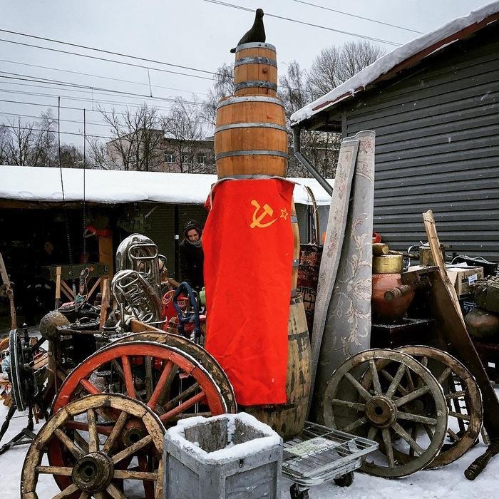 Сокровища «Уделки» — блошиного рынка на севере Петербурга Санкт-Петербург, Рынок, Длиннопост