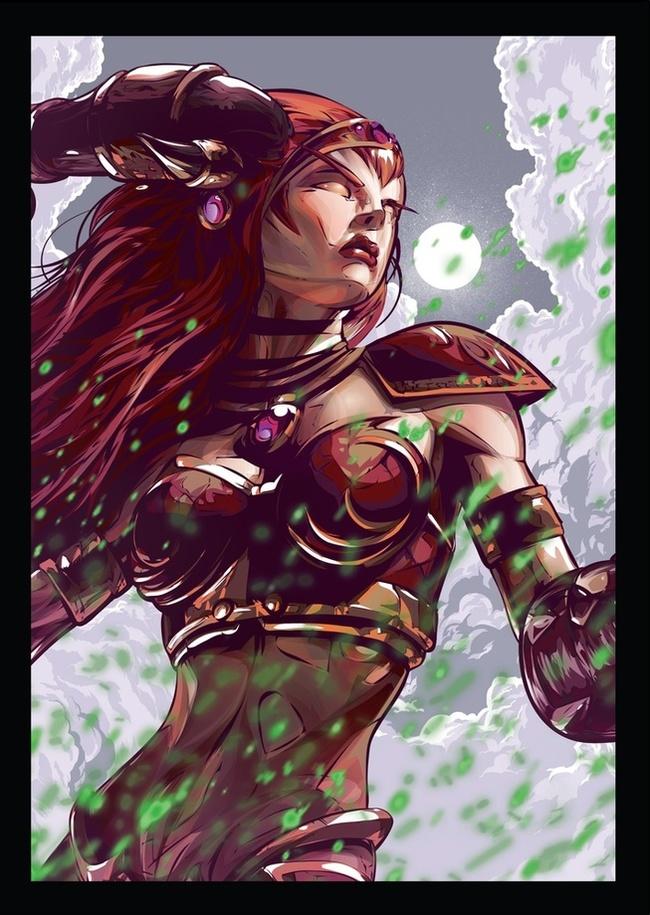 Репродукции популярных артов героев Вселенной Warcraft от дизайнера Straife01. WOW, World of Warcraft, Warcraft, Blizzard, Game Art, Арт, Творчество, Длиннопост