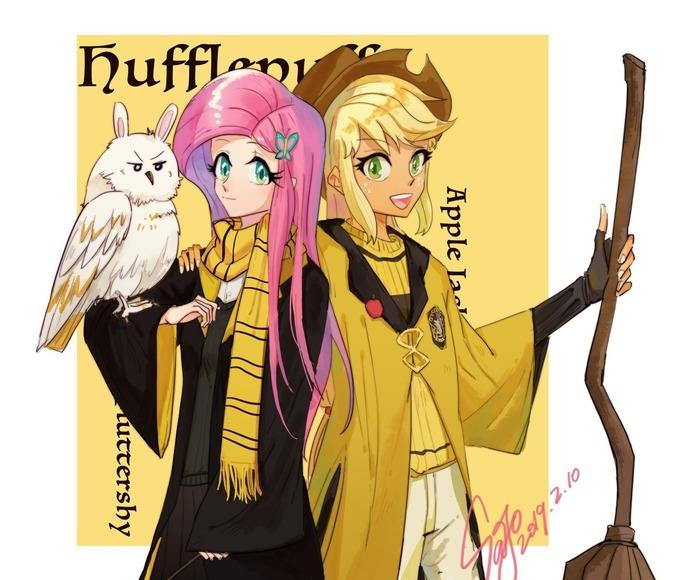 HPxMLP My Little Pony, Mane 6, Sunburst, Sunset Shimmer, Starlight Glimmer, Crossover, Гарри Поттер, Sadistjolt, Длиннопост